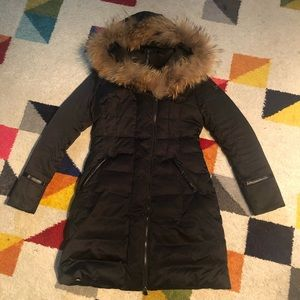 Happy Goat lucky jacket coat parka nwt